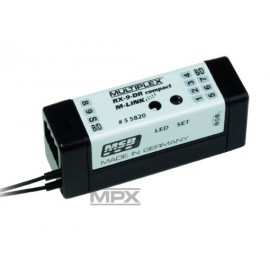 "55820 Receiver RX-9 DR compact M-LINK 2.4GHz"""