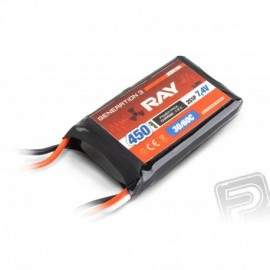 G3 RAY Li-Pol 450mAh/7,4 30/60C Air pack 3,3Wh