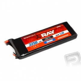 G3 - LC RAY Li-Pol 3250mAh/7,4 30/60C Air pack 24,1Wh