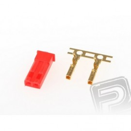 JST BEC connector incl. (Female / Female) 1pc