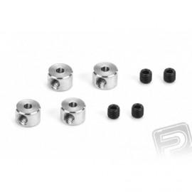 2808 Pierścień regulacyjny Duraluminium 2,5mm 4szt
