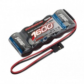 XTEC RX-pack Straight 2 / 3A NiMH - JR - 6.0V - 1600mAh