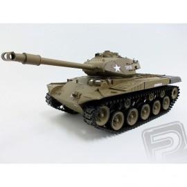 RC tank 1:16 M41A3 WALKER BULLDOG kouř. a zvuk. efekty - použitý