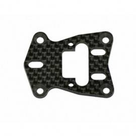 Caster plate carbon F110 SF2