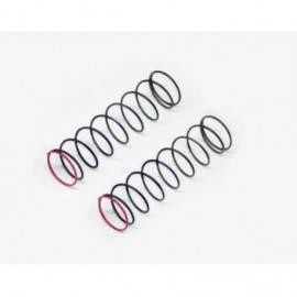 Shock spring red 2.1lbs rr (2) SRX2