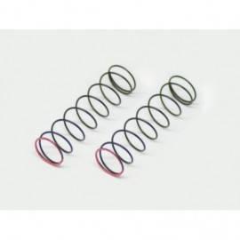 Shock spring pink 2.2lbs rr (2) SRX3
