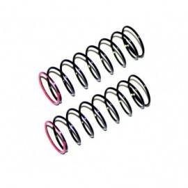 Shock spring pink 3.2lbs fr (2) SRX2 SC