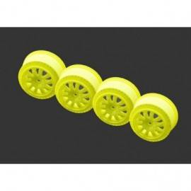 Rim 1/10 SRX2 SC yellow (4)