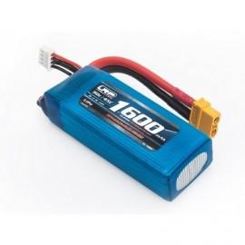 FPV-Race-Pack 1600mAh -3S -90C/45C -11.4V LiHV sada s XT60 konektorem