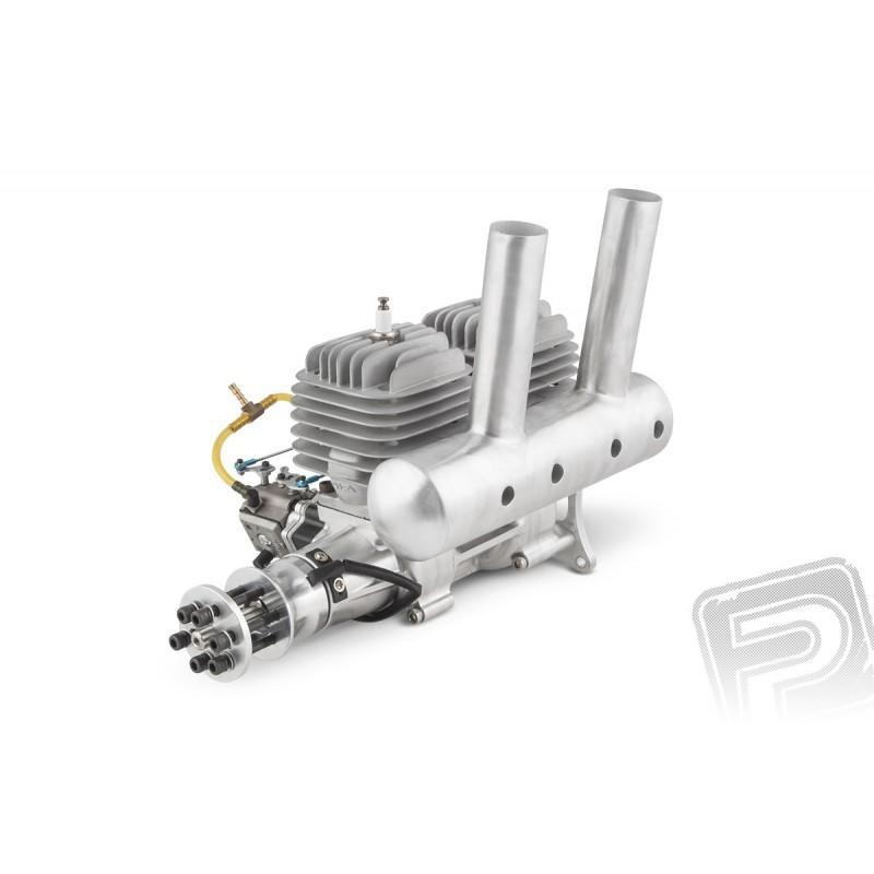 DLA Motor 116 cc (Doppellinie), einschließlich Schalldämpfer und ...