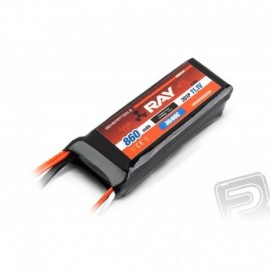 G3 - LC RAY Li-Pol 860mAh / 11,1 30 / 60C Air pack 9,5Wh