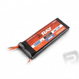 G3 - LC RAY Li-Pol 1800mAh / 7.4 30 / 60C Air pack 13.3Wh