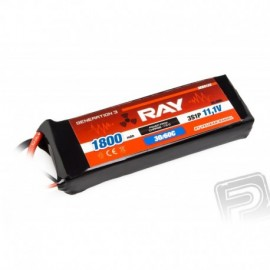 G3 - LC RAY Li-Pol 1800mAh/11,1 30/60C Air pack 20,0Wh