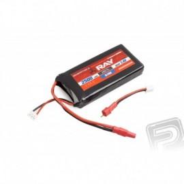 G3 - LC RAY AURORA Tx Li-Pol 2500mAh/7,4 5/10C 18,5Wh