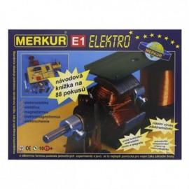 Merkur E1 elektřina, magnetizmus 003116