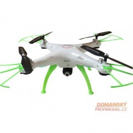 RC Dron Falcon DM006 with height adjustment function and wifi camera white""