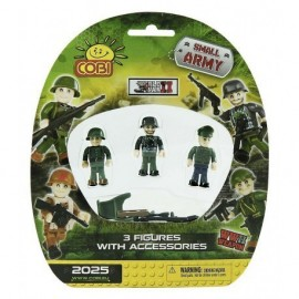 COBI II WW 3 figurky na blistru Small Army