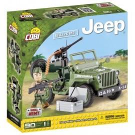 COBI JEEP Willys MB green, 90 HP, 1F