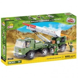 COBI Small Army Vehicle with rocket launcher 300 k, 3 f