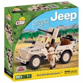 COBI JEEP Willys MB North Africa, 90k, 1f