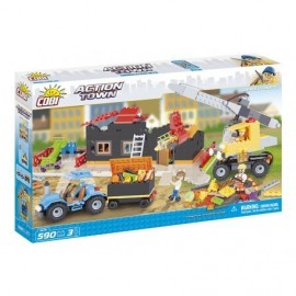 COBI ACTION TOWN Demolice 600 k, 3 f