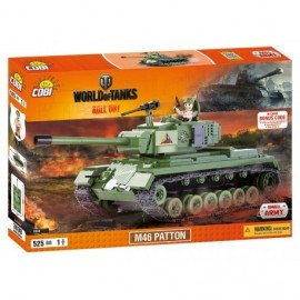 COBI WOT Patton 525 k, 1 f