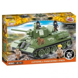COBI T-34/76 from film Four from the tank and dog, 490 hp, 5 f