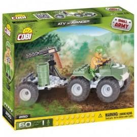 COBI Small Army ATV s avangerem, 60 k, 1 f