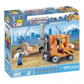 COBI ACTION TOWN Construction - Forklift 90 hp, 2 f