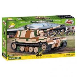 COBI II WW Panzerjager Tiger SdKfz 184 Elefant, 500 k, 2 f
