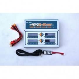 """Čtyřnásobný rychlonabíječ, Quad AC"""" LiPo/LiFe/NiMH AC/DC Battery Charger (6S/9A/100W x 4)"""