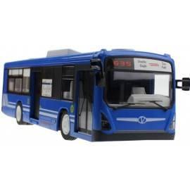 RC Autobus RTR s otvíracími dveřmi 33cm na dálkové ovládání modrý