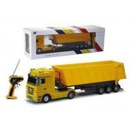Kamion mercedes 1:32 - RC žlutý model sklápěč