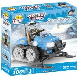 COBI ACTION TOWN Police snowmobile 100 hp, 1 f