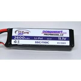 Li-pol 2600 / 11,1 / 55/110C