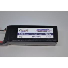 Li-pol 5200 / 18,5 / 55/110C