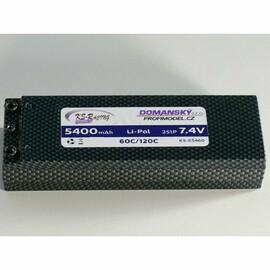 5400mAh 7,4v - 60C hard case battery