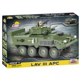 COBI Small Army LAV III APC, 480 HP, 1 f