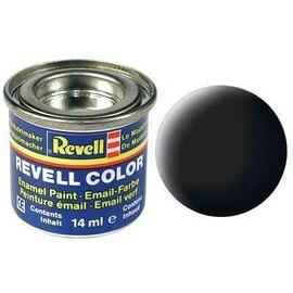 Revell email color - 32108: matt black (black mat)
