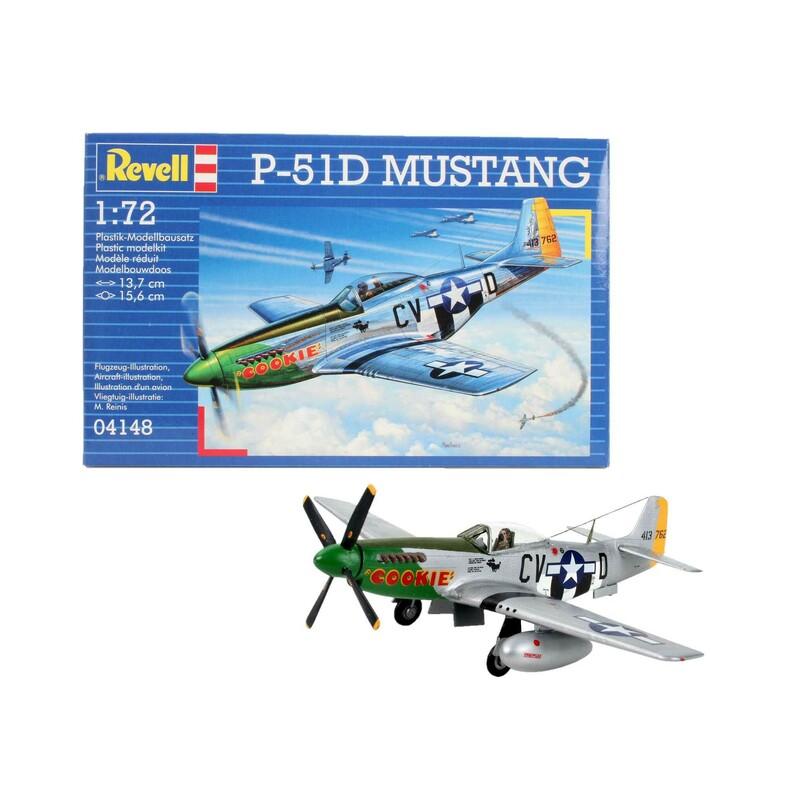 efbef5e88 Plastic ModelKit Aircraft 04148 - P-51D MUSTANG (1:72) - Profimodel.cz