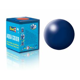 Barva Revell akrylová - 36350: hedvábná tmavě modrá (dark blue silk)
