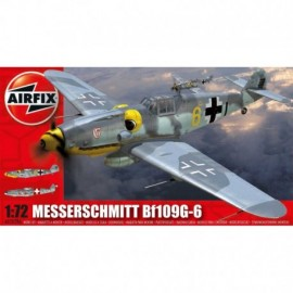 Classic Kit Airplane A02029A - Messerschmitt Bf109G-6 (1:72)