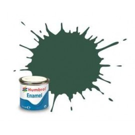 Humbrol barva email AA1287 - No 116 US Dark Green - Matt - 14ml