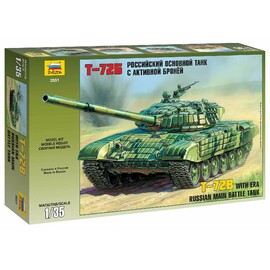 Zestaw modeli 3551 - T-72B ERA (1:35)