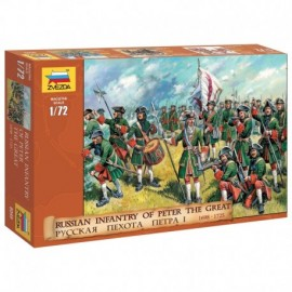Wargames (AoB) figurky 8049 - Russian Infantry (Peter the Great) (1:72)