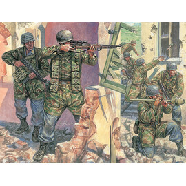 Model Kit figurky 6045 - WWII - GERMAN PARATROOPERS (1:72)