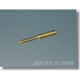 2010 Spojka M2, pr.2mm (vnější O 3, l22 mm) 2 ks