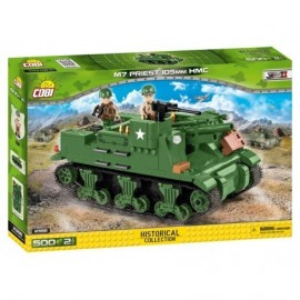 COBI II WW M7 Priest 105 mm HMC, 500 k, 2 f