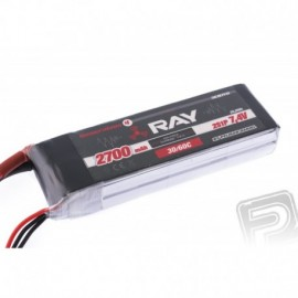 G4 RAY Li-Po 2700mAh/7,4 30/60C Air pack