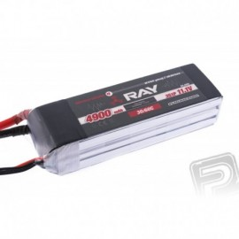 G4 RAY Li-Po 4900mAh / 11.1 30 / 60C Air pack + XT60 plug